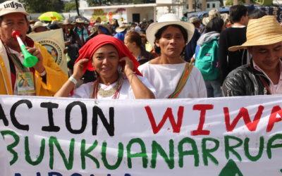 Acción urgente por inminente riesgo de vulneración de los derechos a la vida, a la integridad cultural y al territorio de la comunidad Wiwa de Arimaka